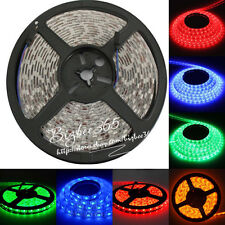 Superbright 5m 5050 RGB 300 LED SMD Non-Waterproof Flexible Strip Lights DC 12V