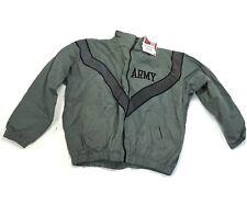 US ARMY Military Physical Training Fitness Jacket, Large Short 100% Nylon