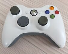 GENUINE OFFICIAL XBOX 360 WHITE CONTROLLER WIRELESS
