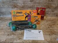 Zumba Fitness Workout Set Dvds Toning