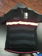 Rapha RCC Training Cycling Jersey Mens Medium Black NEW WITH TAGS- USA SELLER
