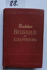 Baedeker Belgique et Luxembourg 1928 (2. W.)
