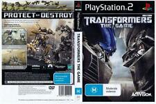 Transformers: The Game - Playstation 2. Complete