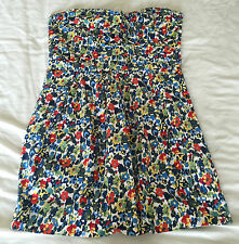 Sleeveless Floral Party Dress Size 14