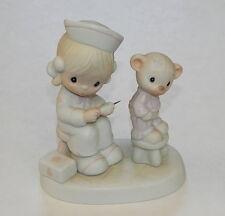 Precious Moments Love Beareth All Things E-7158 Figurine Enesco R11322