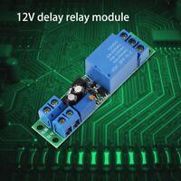 Módulo Temporizador Ajustable Disparador de señal 0~25 segundos DC 12V PLC