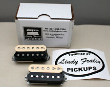 Lindy Fralin Pure PAF Stock Humbucker Pickup set - zebra (7.5k/8.0k)