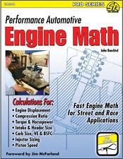 Performance Automotive Engine Math Book-Professional engine builders source~NEW!