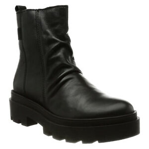 Fly London Womens Boots JILY818FLY Casual Side Zip-Up Ankle Leather