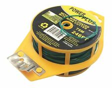 Kitchen Bag Gardening Plant Green Twist Tie Wire Roll With Wire Cutter 246FT 75M