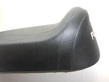 Sitzbank lang Schwarz mit Weißer Puch Aufschrift passt zu Puch MS 50