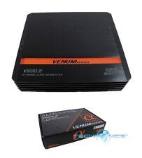 1000W ALPHASONIK 2-CHANNEL CLASS A/B AMPLIFIER PRO CAR AUDIO V500.2
