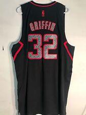 Adidas Swingman Jersey LA Clippers Blake Griffin Black Reverse Static sz 2X