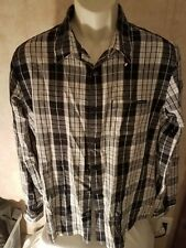 Oakley Men's Long Sleeve Plaid Button Down Casual Shirt Size Large
