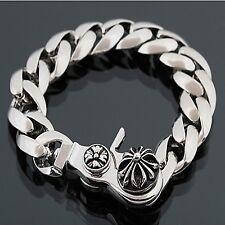 Guntwo Korean Mens Fashion Bracelets - Biker, Hip Hop Metal Bracelet B0072 US