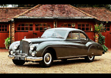 """1955 BENTLEY R TYPE COUPE NEW A4 CANVAS GICLEE ART PRINT POSTER 11.7"""" x 8.3"""""""