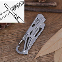 Stainless Steel Pockets Knife Mini Portable Folding Knife Fruits Cutter Foldable