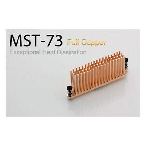 Enzo Tech Full Copper Exceptional Heat Dissipation MOSFET Heatsink (MST-73)