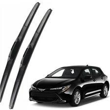 Genuine Set Front Windshield Wiper Blades For 2019-2021 TOYOTA Corolla Hatchback