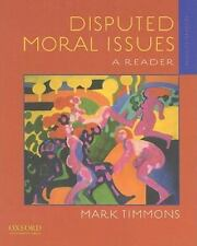 Disputed Moral Issues: A Reader-ExLibrary