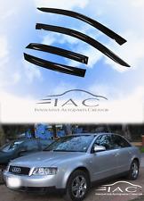 For Audi A4 B6 00-06 Window Visor Vent Sun Shade Rain Guard Door Visor