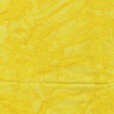 BALI QUARRY HILL STONE QUARRY SUNSHINE YELLOW BATIK BENARTEX cotton fabric HY