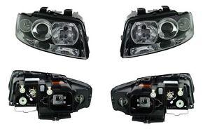 AUDI A4/S4 B6 Headlight Xenon D1S + H7 PAIR (Left + Right) 2002 - 2004