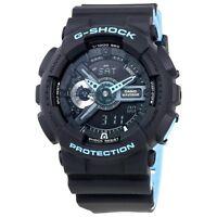 NEW* CASIO MENS G SHOCK NEON BLUE BLACK WATCH GA110LN-1AER RRP£129