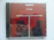 CD ALBUM MANGANESE Lo fi fo fum    MINT 10