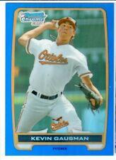 2012 Bowman Chrome Draft & Prospects KEVIN GAUSMAN ROOKIE BLUE REFRACTOR! #/250!