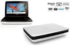 "Philips PD9030/37 Widescreen 9"" Portable DVD Player Stereo Speaker Divx MP3 -C-"