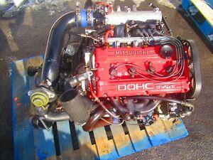 Jdm 95-99 Mitsubishi 4g63 2.0l Turbo Engine Evo 4g63-T 7Bolt Eclipse Talon Motor
