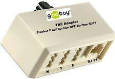 1X ADAPTATEUR TAE pour connecteur à NFF Raccord + WESTERN RJ11 Douille de