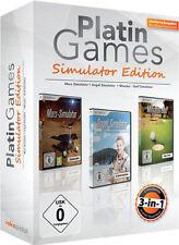 PC Platin Games Simulator Mars+Angel Seen & Flüsse+Miniatur Golf Mini Simulation