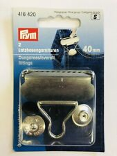 PRYM DUNGAREES/OVERALL FITTINGS 40mm