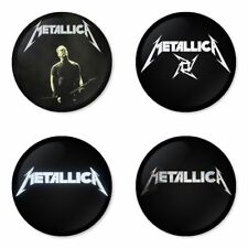 Metallica - 4 chapas, pin, badge, button