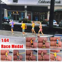 Scale Resin 1/64 Character Model Race Running Medal Figures Model Gift For Kids