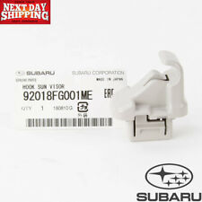 Subaru Ascent XV Crosstrek Legacy Sun visor Hook Assy Genuine OEM 92018FG001ME