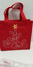 Avon Holiday Light up Bag ~ Chrismas Tree New Ships FREE 8x8x3 inch