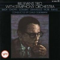 BILL EVANS - WITH SYMPHONY ORCHESTRA  CD NEUF