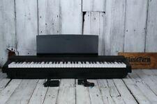 Yamaha P-121 Graded Hammer Action 73 Key Digital Piano w Sustain & Power Supply