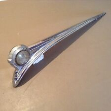1949 DeSoto Hood Ornament Lucite Lighted Insert, used Chrome original