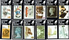 Stamp Out Crime set of 12 cards issued by Hertfordshire Police/Post Office