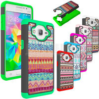 Shockproof Armor Hybrid Rubber Protective Hard Cover Case For Samsung Galaxy On5