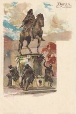 GERMANY: Berlin -statue -undivided back - KLEY- NISTER