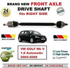 Para VW Golf Mk V 1.6 Automático 2004-2009 Nuevo Eje Delantero Dcho. Transmisión