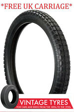 300S20 ENSIGN UNIVERSAL MOTORCYCLE TYRE 300-20 3.00-20 AJS NORTON MATCHLESS
