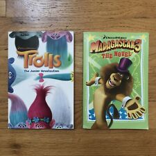 NEW! DreamWorks Novels Chapter Books - Trolls, Madagascar