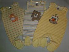 Baby Unisex 3tlg. Nicki Strampler  C&A Gr.62