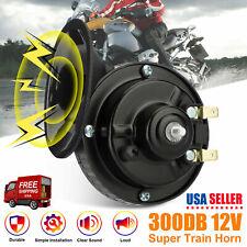 300db Super Loud Train Horn Waterproof For Motorcycles Cars Truck Suv Boat Balck